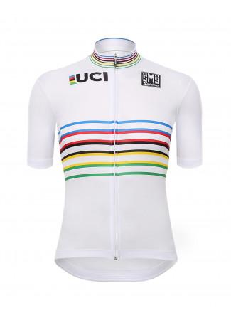 UCI MASTER CHAMPION DU MONDE MANCHES COURTES MAILLOT