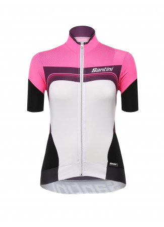 QUEEN OF THE MOUNTAINS - MAGLIA M/C FUCSIA