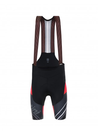 TONO -RED BIB SHORTS