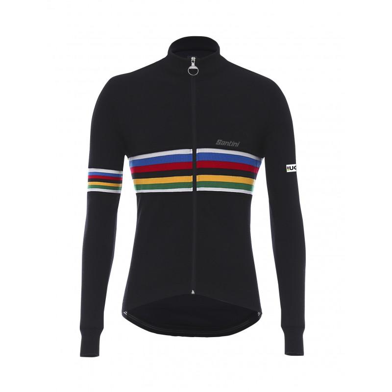 UCI WOOL  L/s wool Jersey