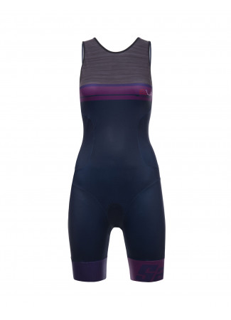 SLEEK 776 - BODY TRIATHLON DONNA GRIGIO