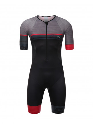 SLEEK 777 - S/S TRISUIT RED