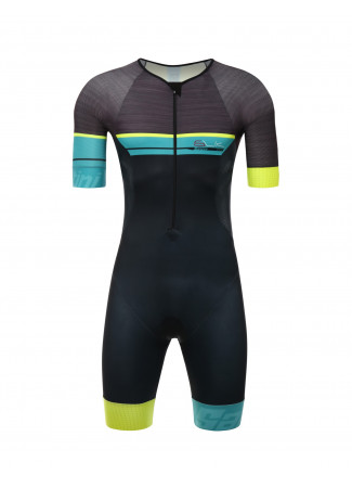 SLEEK 777 - S/S TRISUIT YELLOW