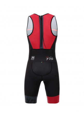 SLEEK 775 - BODY TRIATHLON ROSSO