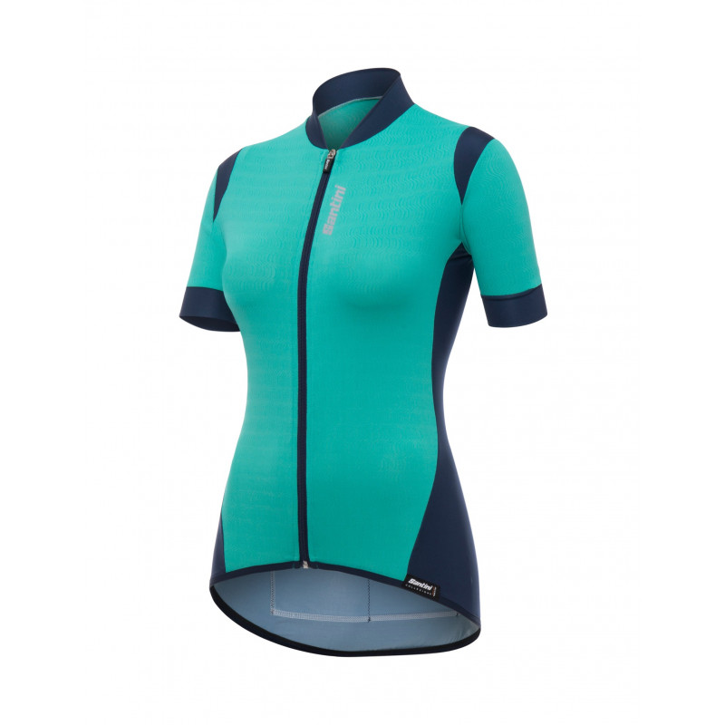 WAVE - MAGLIA M/C ACQUAMARINA