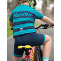 GS - KIDS BIB-SHORTS BLUE NAVY