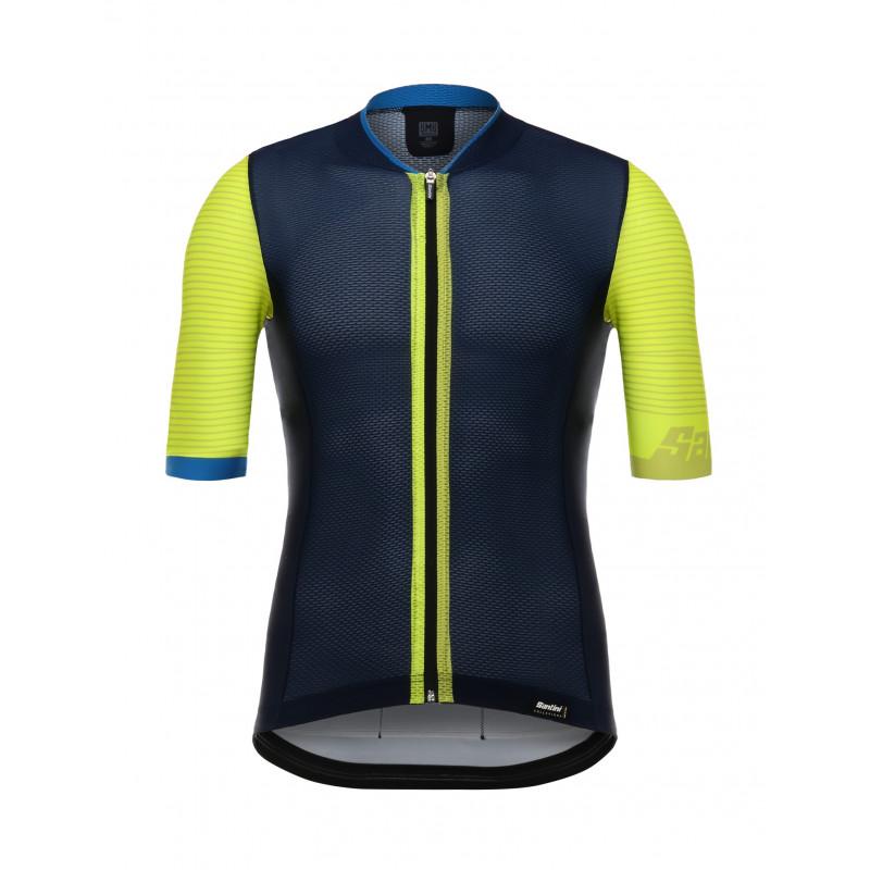 TONO 2.0 - S S JERSEY YELLOW - Santini Cycling Wear e2ce2ed20