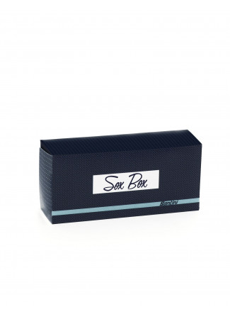 SOX BOX -  NAVY BLUE MIX