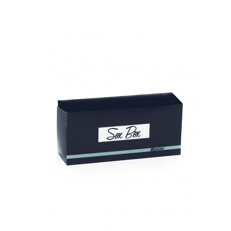SOX BOX -  NAVY BLUE MIX