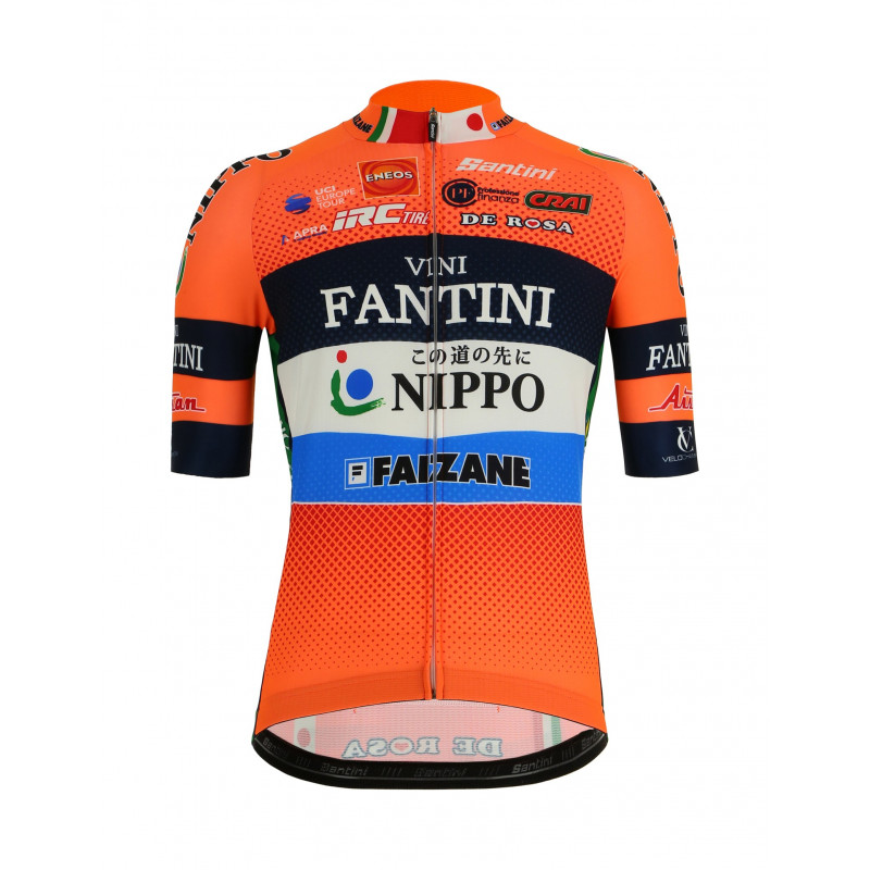 Made in Italy 2019 Nippo Fantini Team Cycling Glove by Santini