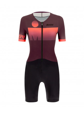 AUDAX 2019 - AERO TRISUIT SHORT SLEEVE WOMAN