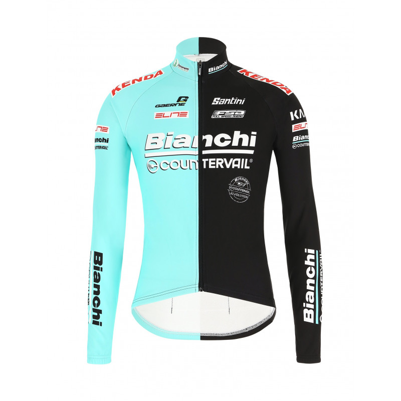 giacca invernale ciclismo bianchi