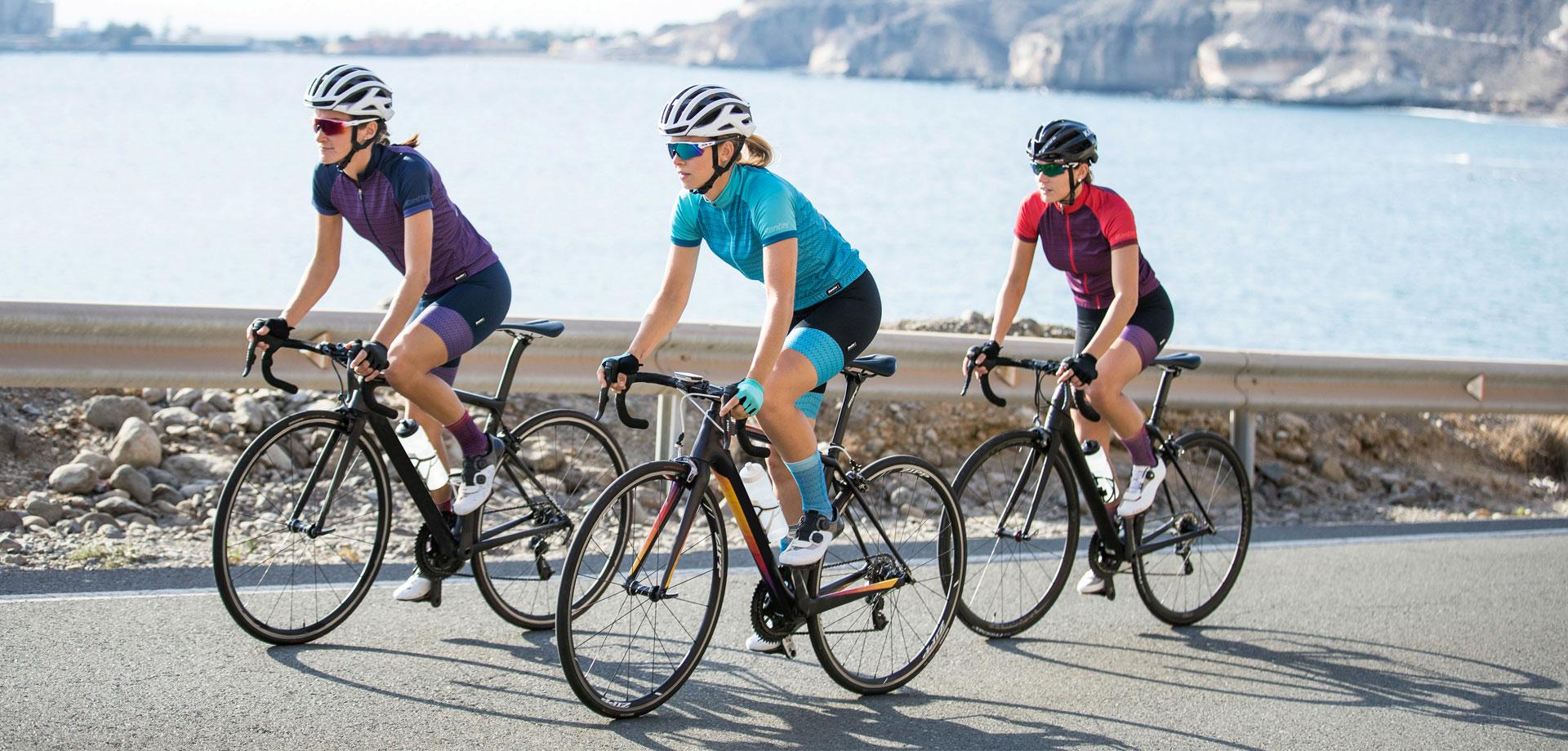 completo da ciclismo donna ritmo