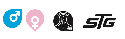 STG simboli