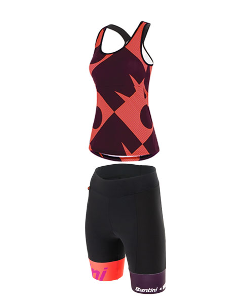 CUPIO TRI TOP AND SHORTS