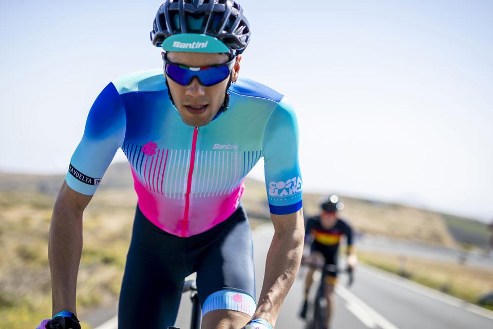 2019 La Vuelta Costa Blanca Cycling Jersey by Santini