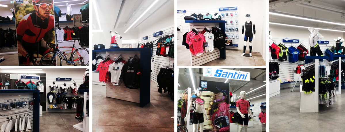 Outlet Store Foxtown - Santini Cycling Wear