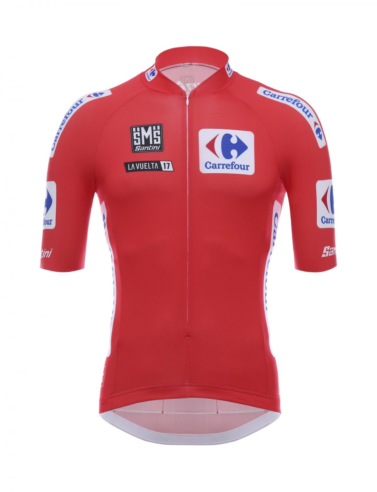Vuelta maglia rossa