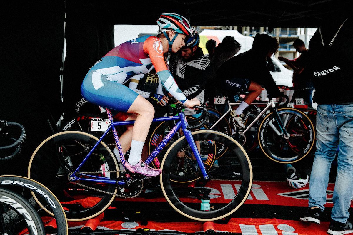 ASH DUBAN RED HOOK CRIT LONDON RACE REPORT - Santini Cycling