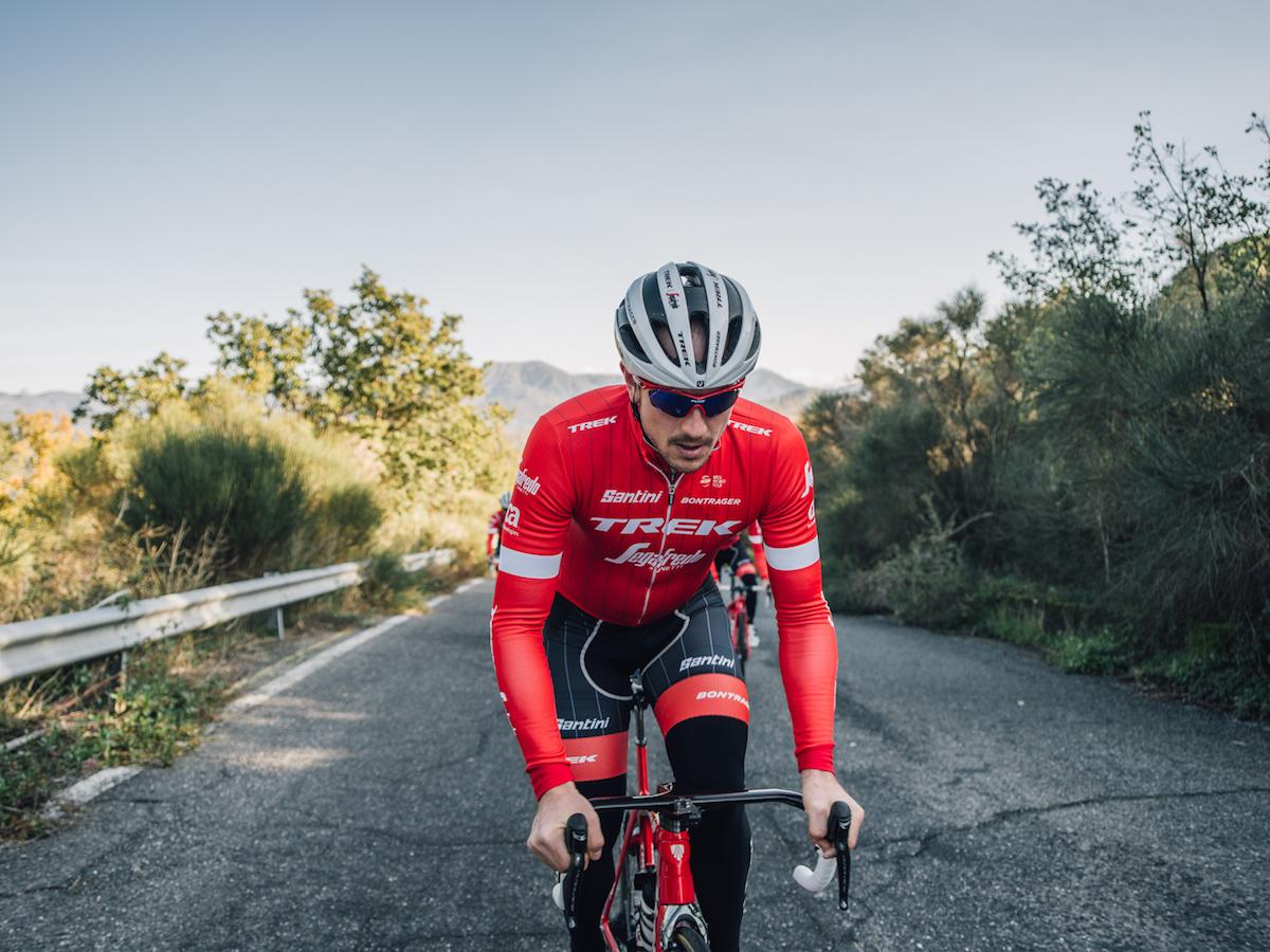 Made in Italy by Santini Yellow 2018 Trek Segafredo Team CYCLING Vest