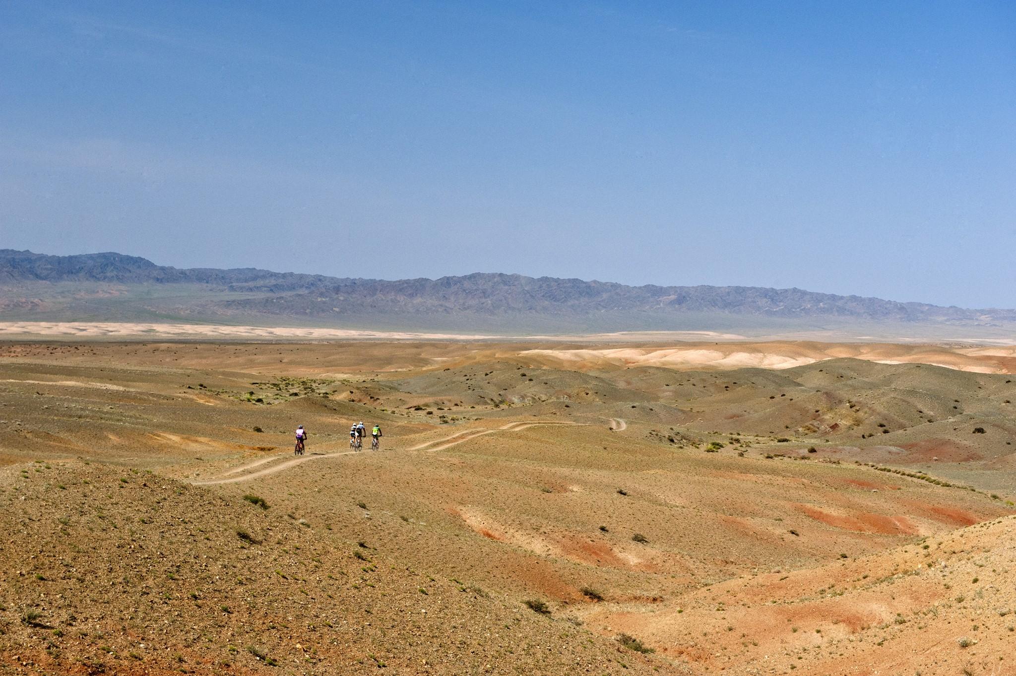 """Live The Legend, Be a Khan."" Santini takes you to the Mongolia Bike Challenge"