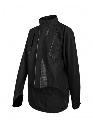 DRUN Rain jacket BLACK
