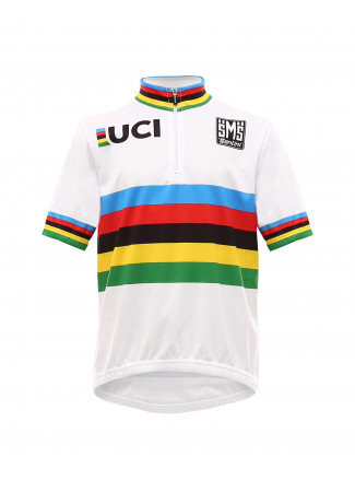 37df8b4d UCI WORLD CHAMPION Kids jersey