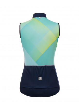GIADA - SLEEVELESS JERSEY WATER