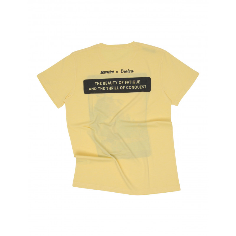 EPOCA - T-SHIRT GIALLO